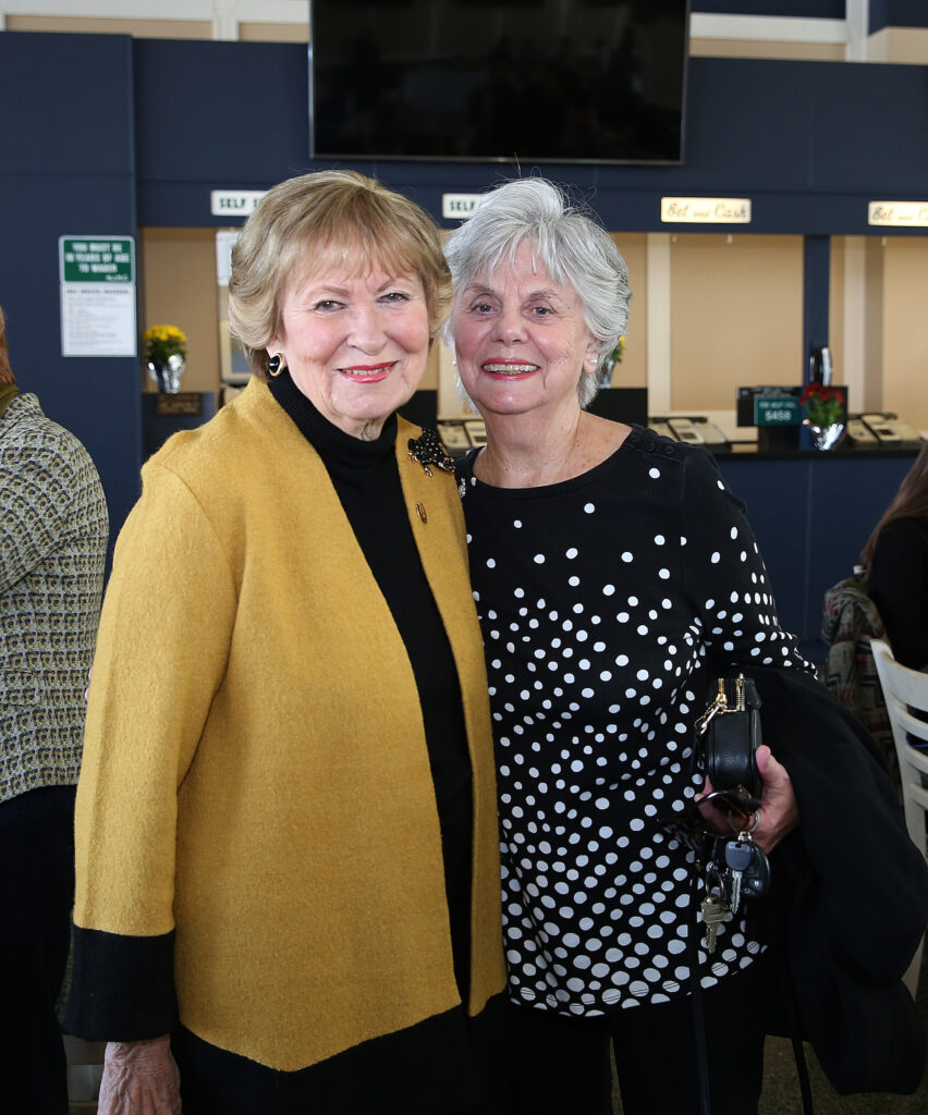 Sandy Mullaney and Mary Ann Martin